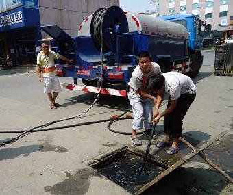 新装马桶排水不畅