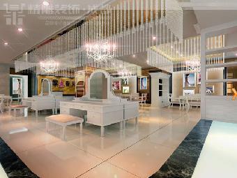 成都影楼装修设计公司最好的影楼店面设计装修公司精