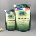耐抗不滲液1kg果樹營養液塑料吸嘴自立袋東莞生產廠