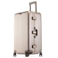 工廠生產運動版鋁框拉桿箱萬向輪行李箱24寸旅行箱