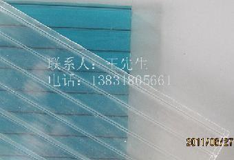 朔州/朔州8mm双层中空阳光板,朔州8mm口字格聚碳酸酯PC板