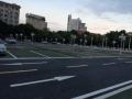重慶潼南車庫劃線改造,潼南市政道路劃線