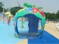 苹果水屋儿童戏水设备喷水小品水上乐园儿童游乐设备