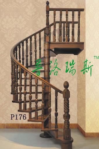 03东莞复式楼梯扶手装修效果图[普洛瑞斯]p176          木材