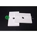 耐磨陶瓷襯板 92氧化鋁襯板高爐布料溜槽高硬度耐磨
