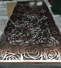 玫瑰金不锈钢屏风隔断大堂不锈钢花格镂空欧式金属屏风