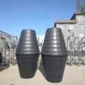 城鄉改造雙翁漏斗式化糞池 立式塑料糞桶 安徽旱廁改
