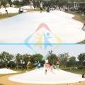 蹦蹦云是景區公園的人氣項目打造蹦蹦云主題樂園游客多