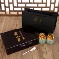 溫州靈芝孢子粉木盒包裝廠家,溫州平陽山茶油木盒包裝