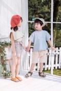 網紅日韓系童裝品牌優陌依家2020夏裝折扣貨源批發