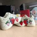 鞋子怎么印圖案深圳龍潤成品鞋打印機廠家直銷