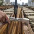 鐵路尖軌降低值測量儀GDK 鋼軌岔尖磨耗檢測儀