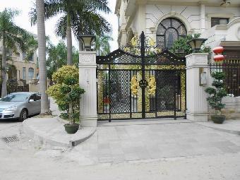 二, 庭院大门设计:未走寻常欧式风格设计思路.
