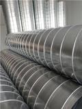 新诚通风环保管道风管机生产螺旋风管配件加工