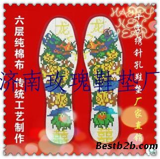 十字绣印花鞋垫,十字绣鞋垫