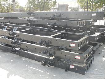 东风多利卡货车车架,大梁价格