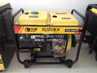 3900ce铃鹿动力3kw柴油发电机组