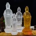 西藏萨迦派寺庙琉璃佛像琉璃八仙福禄福禄寿黄财神