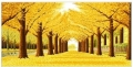 哪里有純手工制作成品十字繡2米左右黃金滿地