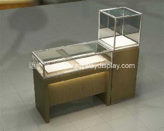 珠宝展示柜,展柜制作,木制展柜