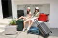 廠家直銷網紅鋁框拉桿箱萬向輪行李箱男女密碼箱登機箱