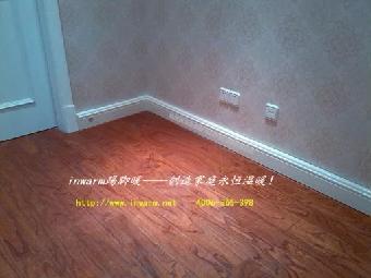 只要把原来的木质踢脚线或瓷砖踢脚线