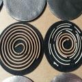 廠家直供防火棉 優質預氧化碳纖維 圓形香爐墊