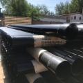 宁夏固原黑色热浸塑钢管扩口涂塑穿线钢管现货供应