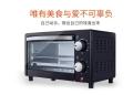 家用烘焙箱多功能独立控温12L电烤箱一件代发
