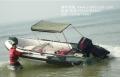 铝合金底冲锋艇系列+航凯汽油发动机