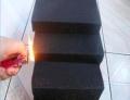 环保PU聚氨酯防火软包海绵 高弹性防火墙体海绵