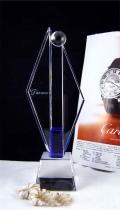 吉林白城市职员技能奖杯单位年会奖杯杰出贡献奖杯
