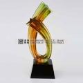 广州奖杯定制厂家,广州水晶琉璃奖杯奖牌纪念品厂家