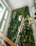 北京顺义仿真植物墙设计