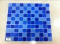 蓝色玻璃马赛克25规格多少钱