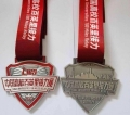 广州金属奖牌制作广州马拉松牌生产 广州合金银牌工厂