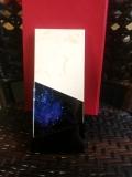 板砖水晶奖杯定做 西安高档实木水晶奖杯彩印