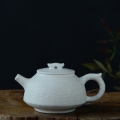 焦作绞胎瓷茶具,柴战柱作品绞胎纹饰壶