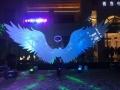 贵州天使的翅膀天使之翼亮化暖场道具出租租赁