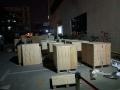 光明小型电气设备钢带木箱包装找泰合