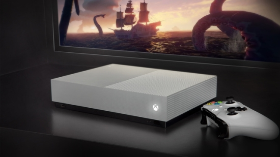 Xbox One S全数位版正式发售 微软同步推游戏序号卡