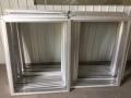 山西绷网制版铝合金网框 印刷绷网跑台印花框