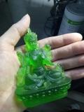 青海琉璃佛像琉璃观音像厂家定做琉璃白度母绿度母