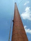乳山烟囱爬梯护笼除锈刷漆公司