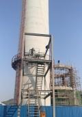 锅炉房45米烟囱拆除安全措施