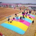 生态园景区农庄大蹦床趣味蹦床儿童游乐设施
