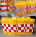 湖北高速公路警示防撞桶 滚塑水马 直销厂家
