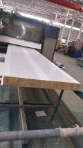 定制各种型号冲孔消音板 消音岩棉夹芯板
