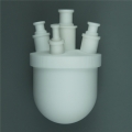 PTFE烧瓶聚四氟烧瓶可定制配套蒸馏冷凝装置