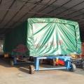 5吨雨棚平板拖车 加高型